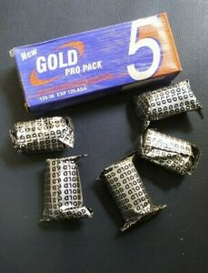 New Gold Pro Pack(5Films) (125 ASA)  Expired film on 2002 35mm