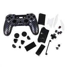 Noir Etui Housse Coque Bouton Pièce Complets pour Sony PS4 Manette