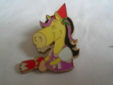 Hungry Horse Pin Badge Girl Party Horse