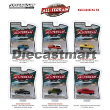 Greenlight 1:64 All-Terrain Series 9 Set of 6 Ford Chevy Jeep Nissan GMC 35150