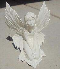 Fairy Statue Figure Beatifully Detailed White Ceramic New