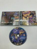 Sony PlayStation 1 PS1 CIB Complete Tested Spyro: Year of the Dragon Black label