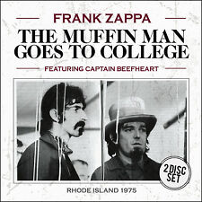 FRANK ZAPPA w CAPTAIN BEEFHEART New 2017 UNRELEASED 1975  LIVE CONCERT 2 CD SET