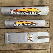 KUWAHARA Lightning Pad Sets limited color silver OLD BMX Leisure Bicycles