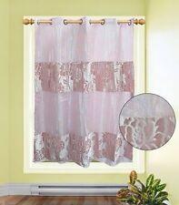 Rideaux roses en polyester pour la chambre