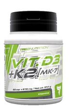 Trec Nutrition Vit D3 K2 MK-7 Vitamin Complex Bones Muscle Immune System Support