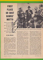 Hockey Pictorial Magazine - September, 1964 With Bobby Hull Autograph Inside