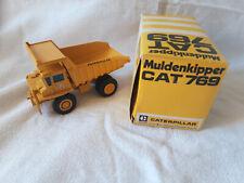 "Modèle miniature Caterpillar CAT 769 "" Camion de chantier """