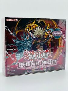 YUGIOH!! Legendary Duelists: Rage of Ra Display! LED7! Neu&OVP! DE Ghost Rare Ra