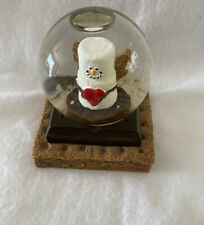 Smore' Snowglobe Snow globe Angel with Heart Midwest Designed for Srg
