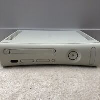 Faulty Microsoft Xbox 360 White Console Only - Red Ring - No Hard Drive Or Leads