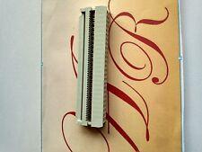 Weibliche 50 Position Flat Cable IDC Buchse Stecker 2.54mm