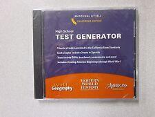 %High School Test Generator California Edition Modern World History 061857011X