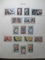 Gabon MNh + mH Stamps Lot