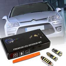 Citroen C4 I Premium Led Interior Kit SMD Bulbs White 6pcs Error Free