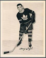 1945-54 Quaker Oats Photo Toronto Maple Leafs #53 Harry Taylor/Home Still