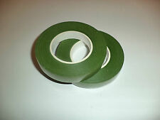 2 Rolls Green Floral Stem Tape