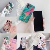 Shockproof Floral Print Phone Case Protector For iPhone 6/7/8 Plus XS Max XR