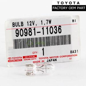 GENUINE TOYOTA COROLLA SUPRA RAV4 SHIFT POSITION INDICATOR BULB OEM 90981-11036