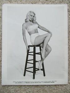 JOI LANSING ORIGINAL 1959 BW PHOTO STILL EX