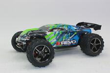 Traxxas 71054 -1 grün 1:16 RC E-Revo 4x4 RTR + 12V Lader + Akku NEU in OVP
