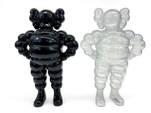 KAWS (b. 1974). Chum, Pair (Black & Clear), 2002, Black is SIGNED