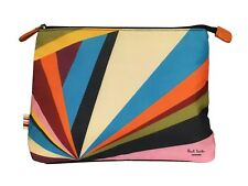 Paul Smith Cosmetic Make Up Pouch Travel Toiletry Wash Bag Unisex Men Women