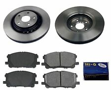Front Ceramic Brake Pad Set & Rotor Kit for 2011-2014 Toyota Sienna