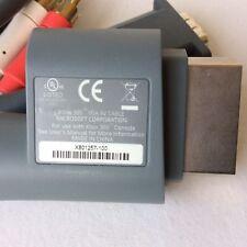 OEM Xbox 360 VGA AV HD Composite Cable Cord (X801257-100) Genuine Microsoft HDTV