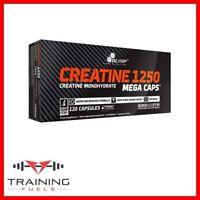 Olimp  Creatine 1250 Mega Caps Creatine Monohydrate 120 Capsules Muscle Size
