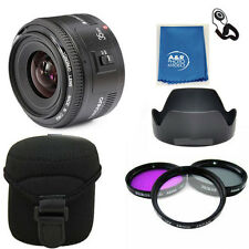 Yongnuo EF 35mm F2 C Wide Angle Fixed Prime Auto Focus Lens Canon YN35mm PRO KIT