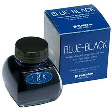 Platinum Bottle Ink for Fountain Pen 60cc Blue-Black INK-1200#3