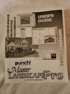 Punch! Software Master Landscape Pro Home Design User's Guide Manual Only