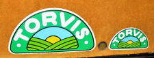 N.2 ADESIVI TORVIS LATTERIE FRIULANE ANNI 80