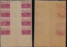 Estonia, 1941, SC NB2, MNH, block of 8, imperf. c1775