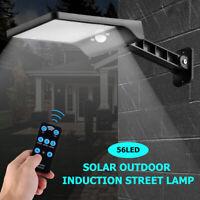 Waterproof LED Solar Wall Street Light Outdoor Motion Sensor Control Garden Lamp
