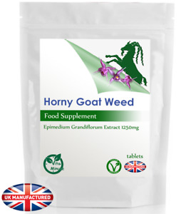 High Potency Horny Goat Weed 5000mg/Serving Tablets - FREE UK DELIVERY (Private)
