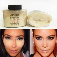 Banana Powder Smooth Loose Oil Control Face Makeup Concealer Mineral Foundation