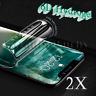 2x 6D iPhone 8 und 7 Hydrogel Schutzfolie Folie 3D Panzer H9 Glas 9H
