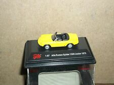 NEW ROMEO SPIDER CONVERTABLE CAR 1970 HO 1/87 SCALE