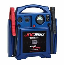 12 Volt 1700 Peak Amp Jump Starter with Built-In Charger