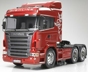Tamiya 56323 1/14 Scale RC Scania R620 6x4 Highline Tractor Truck 3-Axle Kit