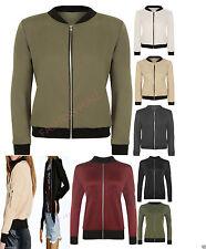 Women's Cropped None Biker Coats & Jackets