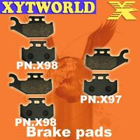 FRONT REAR Brake Pads for BOMBARDIER BRP Traxter Max Std/XT 2004 2005