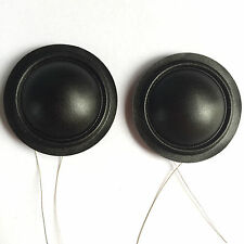Lot/2 pcs of 25.4mm 25.5mm (1 inch) Silk Diaphragm Dome Tweeters Voice Coil