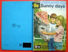 Sunny Days vintage Ladybird book 8a Key Words Reading Scheme early learning 24p