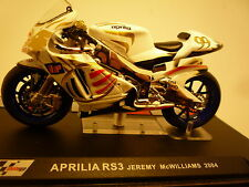 MOTO  1/24 APRILIA RS3 JEREMY McWILLIAMS 2004