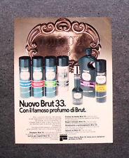 [GCG] M675 - Advertising Pubblicità - 1976 - LINEA NUOVO BRUT 33