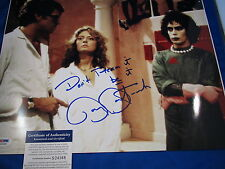 BARRY BOSTWICK HAND SIGNED BRAD MAJORS ROCKY HORROR 11X14 PSA COA S24368