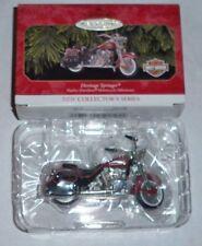 1999 Hallmark Keepsake Heritage Springer Harley Davidson diecast ornament